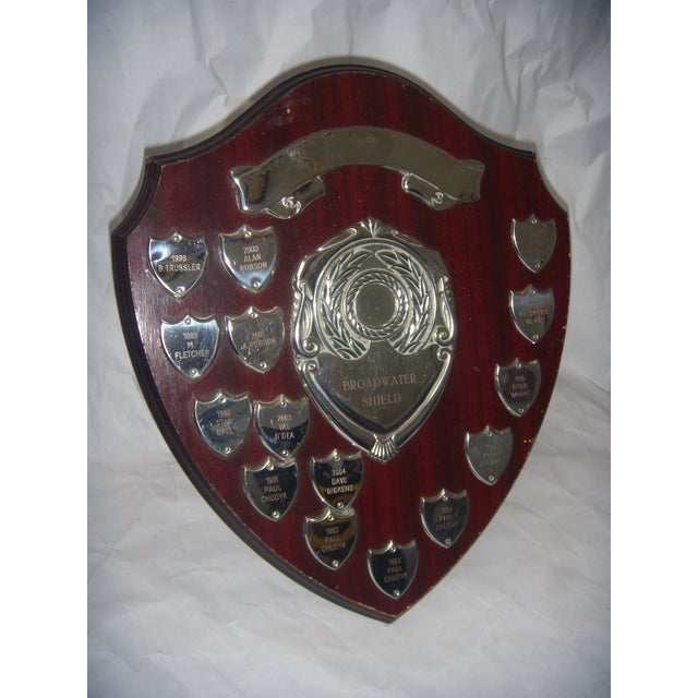 English Sports Trophy Plaque, Broadwater Sheild - Image 2 of 6