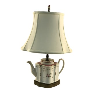Newhall Tea Pot Table Lamp For Sale