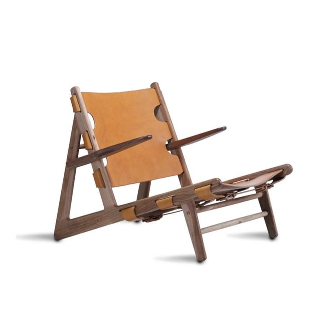 Borge Mogensen Inspired Hunting Chairs - a Pair For Sale - Image 5 of 9