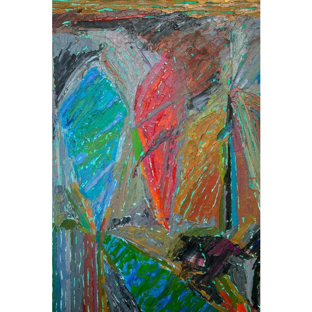 Oil on Canvas Abstract by John McNamara, American For Sale In New York - Image 6 of 8