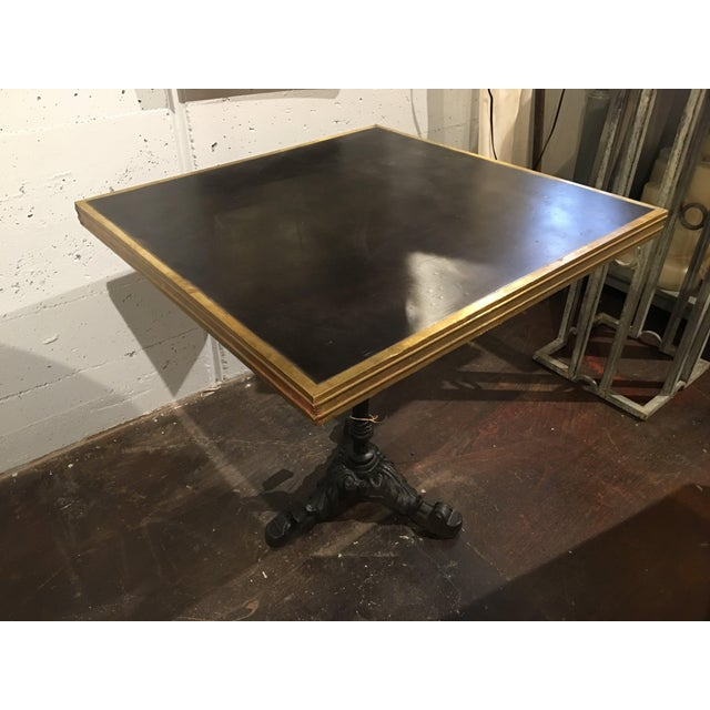 Vintage French Bistro Table For Sale - Image 5 of 13