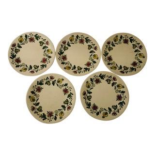 Vintage Johnson Bros Gretchen Set of 5 Bread/ Dessert Plates For Sale