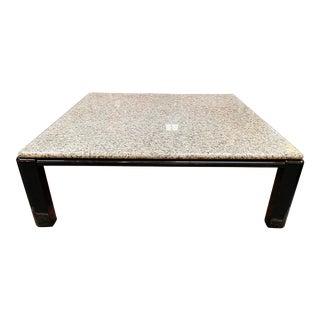 Metropolitan Furniture Brian Kane Granite Top Coffee Table For Sale