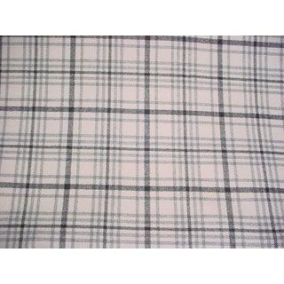 Ralph Lauren Haggerston Check Lead Tartan Upholstery Fabric - 2 3/4 Yards For Sale