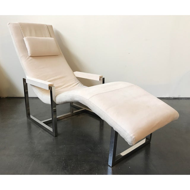 Ralph Lauren Home Loft Leather Chaise - Image 2 of 8