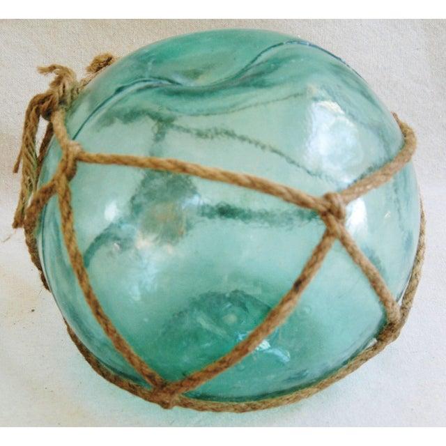 Jumbo Hand-Blown Glass Fishing Floats - Set of 3 - Image 4 of 5