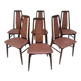 Mid-Century Rosewood Dining Chairs by Niels Koefoed For Sale