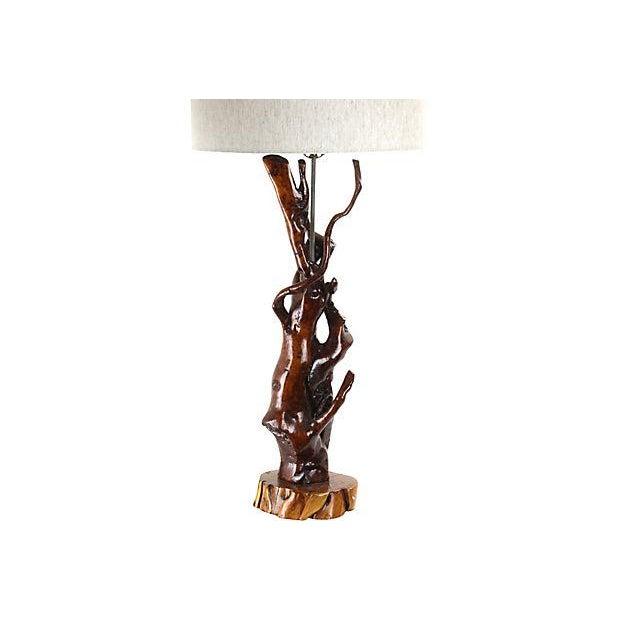 Bohemian Tree Root Lamp - Image 2 of 3