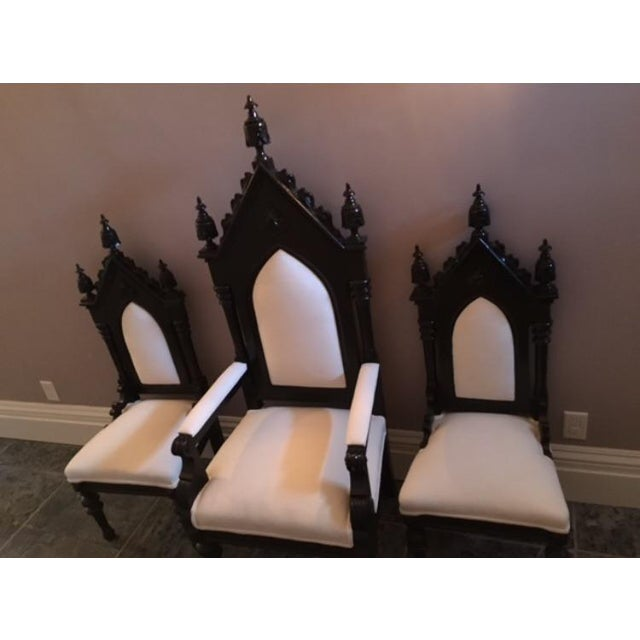 King, Queen & Princess Chairs - Set of 3 For Sale - Image 4 of 5