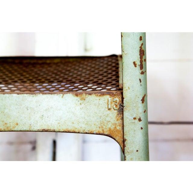 1950s 1950s Vintage Metal Envoy #13 Vintage Americana School Chair For Sale - Image 5 of 9