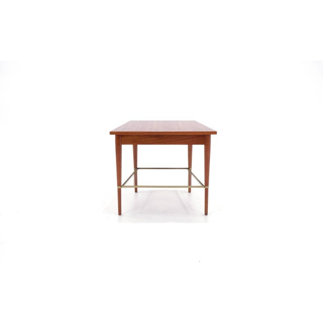 1950s Rare Paul McCobb Trapezoidal Side or End Table For Sale - Image 5 of 10