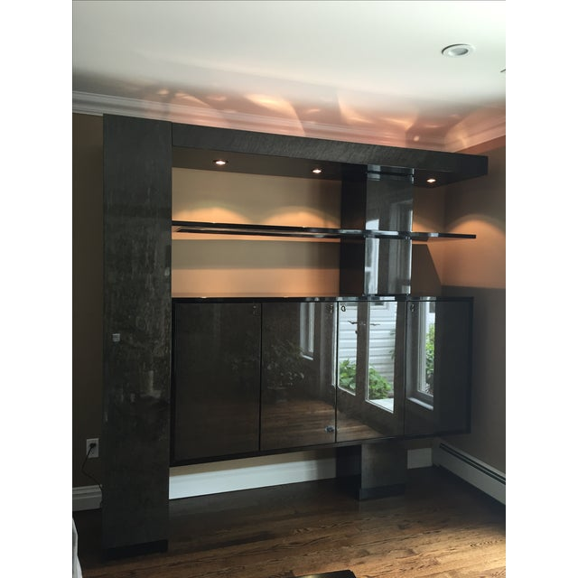 Maurice Villency Wall Unit - Image 2 of 4