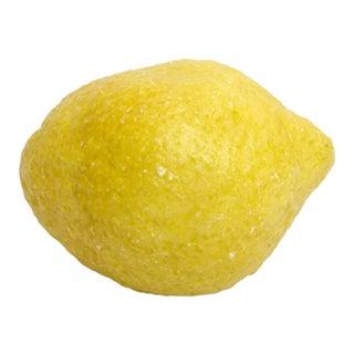 Vintage Italian Carved Lemon For Sale