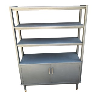 1960's Vintage Mid Century Bookcase For Sale