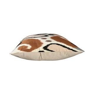 Kim Salmela Modern Turkish Silk Ikat Square Pillow Preview