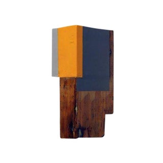 "Vintage Abstract Sculpture ""Through a Glass Darkly 5"" by Paul Rinaldi For Sale"