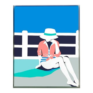 """South Beach"" Painting by Jaime McCarrier For Sale"