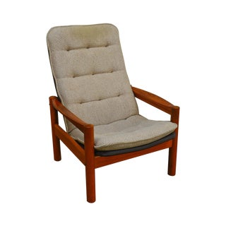 Domino Mobler Danish Modern Teak Lounge Chair For Sale