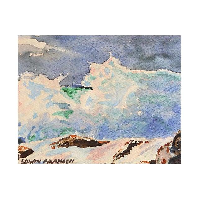 Carmel Surf by Edwin Adamson For Sale