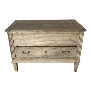 Mid 19th Century Vintage French Lift Top Sugar Chest For Sale