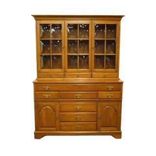 Pennsylvania House Solid Cherry Traditional China Cabinet For Sale