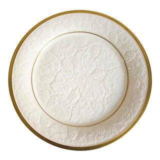 Lenox 14k Gold Trim Serving Platter Charger Plate For Sale