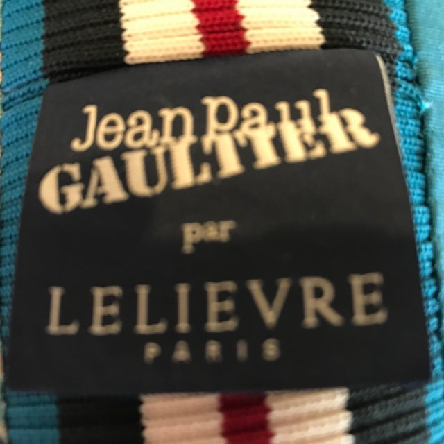 Jean Paul Gaultier Decorative Pillows - A Pair For Sale In Washington DC - Image 6 of 9