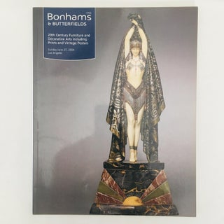 Christie's & Bonhams 20th Century Furniture & Decorative Arts Auction Catalogs - a Pair Preview