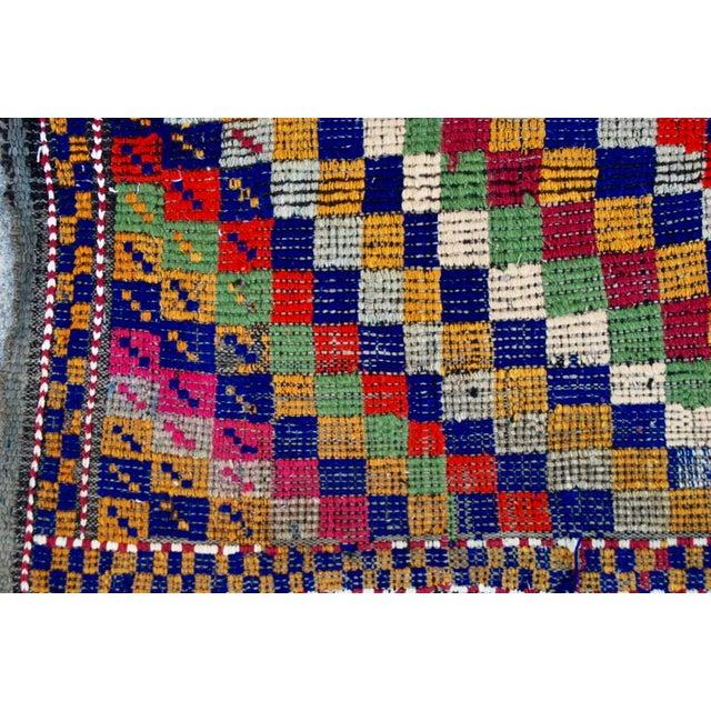 Vintage Handmade Bohemian Kilim Rug - 5'3'' X 8'10'' - Image 5 of 8