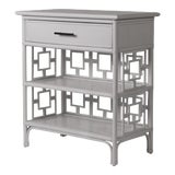 Image of Sobe End Table - Light Gray For Sale