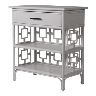 Sobe End Table - Light Gray For Sale