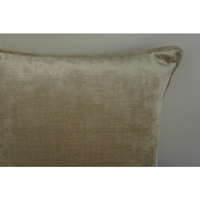 Early 21st Century Single Fortuny Accent Pillow W/ Urn For Sale - Image 5 of 6