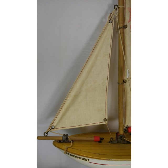 Vintage Star Yacht Pond Sail Boat For Sale In Houston - Image 6 of 11