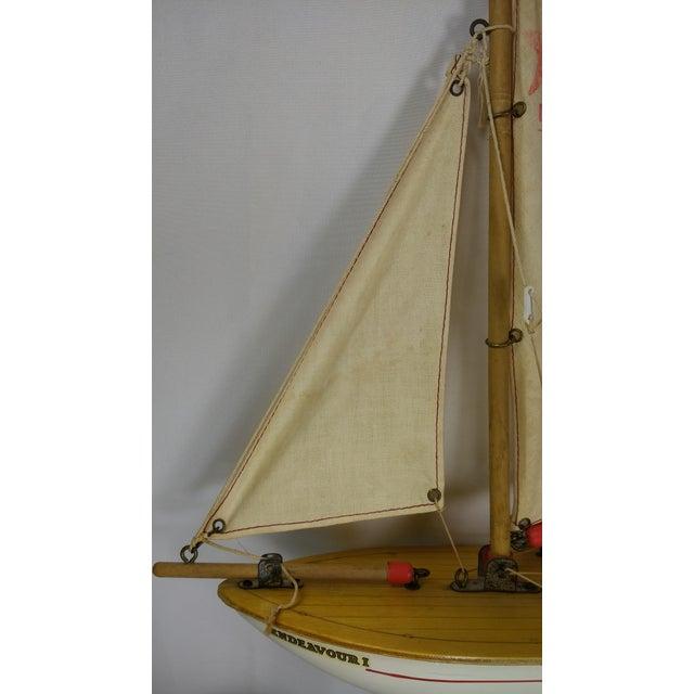 Vintage Star Yacht Pond Sail Boat