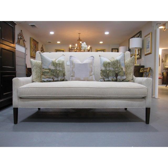 Hickory White Loveseat, Sofa, Neutral Upholstery, Model #:5009-04