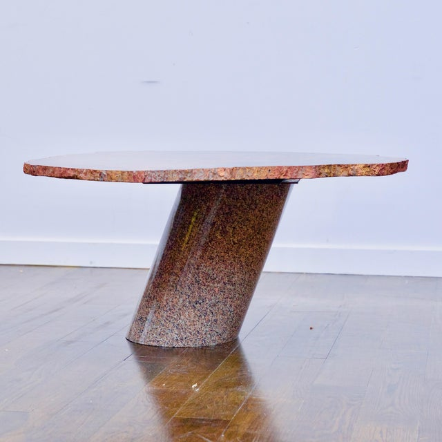 Karl Springer Petrified Wood Side Table For Sale - Image 10 of 10