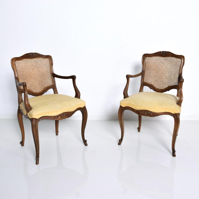 1970s Hollywood Regency Arm Chairs by Kindel - a Pair For Sale - Image 5 of 11