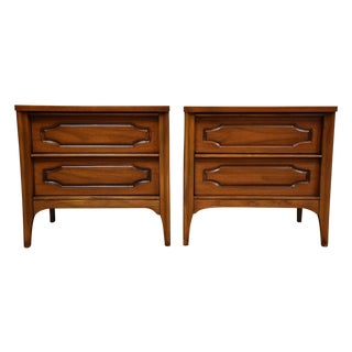 Kent Coffey Marquee Modern Nightstands - Pair