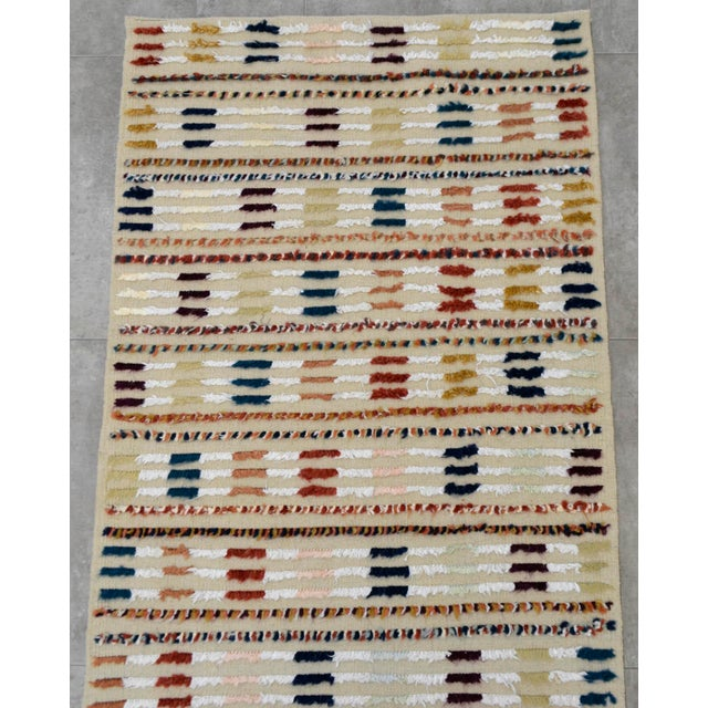 Hand Knotted Oushak Runner Rug - 2′8″ X 9′10″ - Image 6 of 10