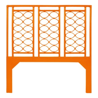 Infinity Headboard Queen - Orange For Sale