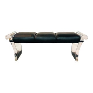 Substantial Lucite Bench For Sale