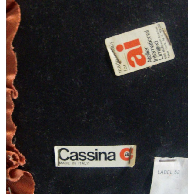 """1970s Mario Bellini for Cassina """"Tentazione"""" Chairs - a Pair For Sale In Minneapolis - Image 6 of 7"""