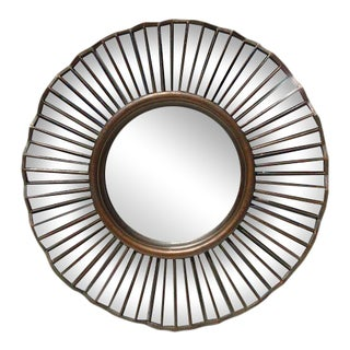 Rubbed Bronze Mirror