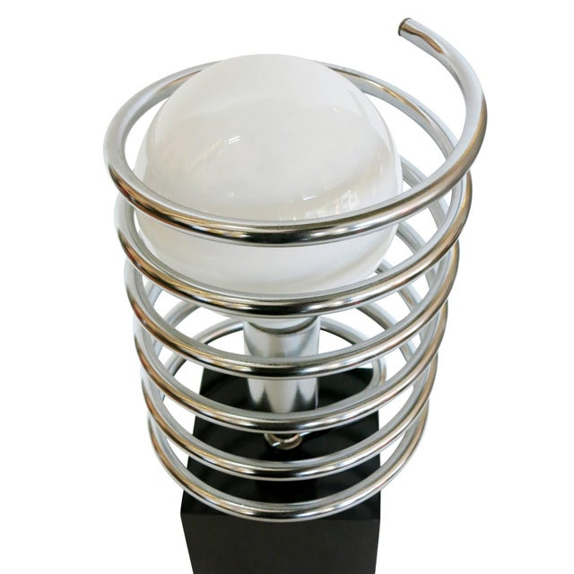 1960s Modernist Spring Table Lamp by Sonneman Lighting Company For Sale - Image 5 of 8