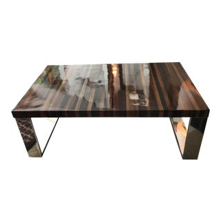 Palecek High Gloss Coffee Table For Sale