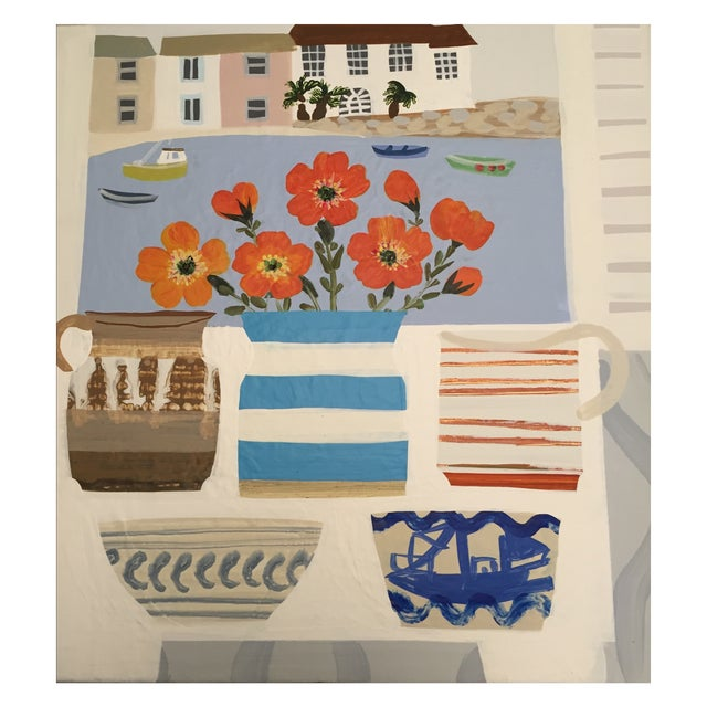 British Artist Williams St Ives Painting - Image 1 of 4