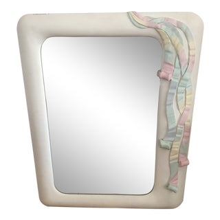1970s Vintage Multi Colored Ribbon Mirror by Lee Reynolds Vanguard Furniture For Sale