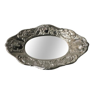 Sterling Silver Tray Stamped Grand Victorian by Wallace 1650 For Sale