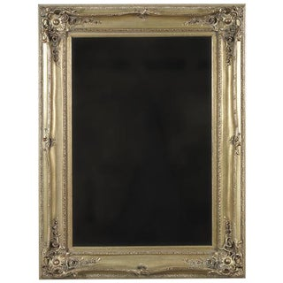 Silver Painted Wall Mirror For Sale