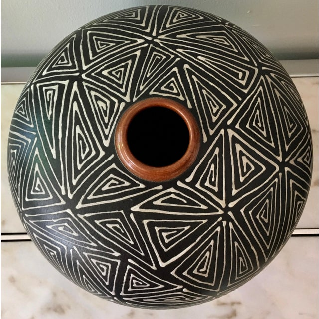 Mid-Century Studio Pottery Vase - Image 4 of 6